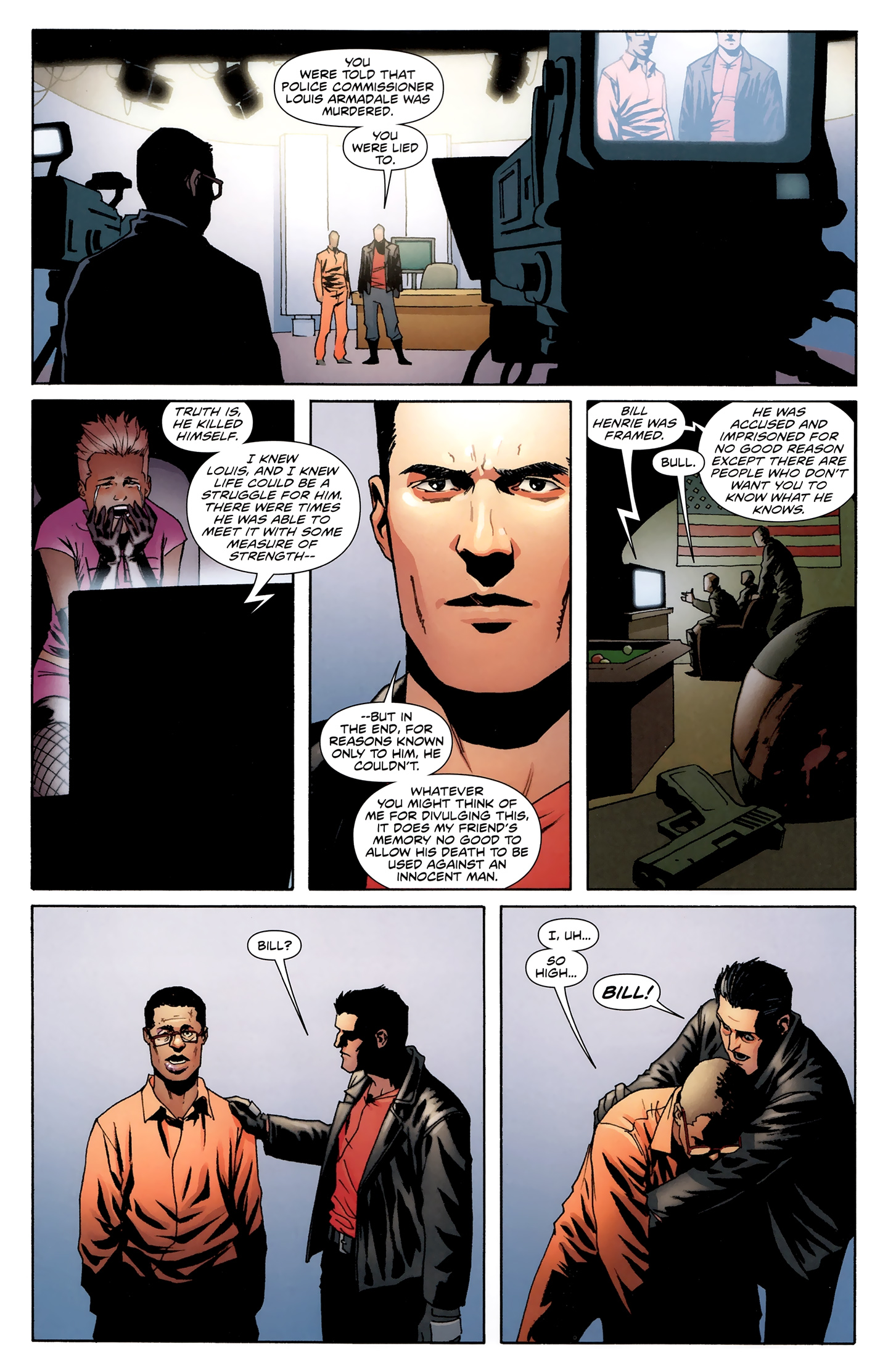 Read online Incorruptible comic -  Issue #28 - 19