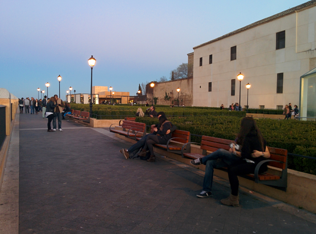 Miradero Toledo atardecer vistas