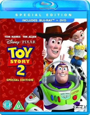 Toy Story 2 (1999) Dual Audio Hindi 720p BluRay 750mb
