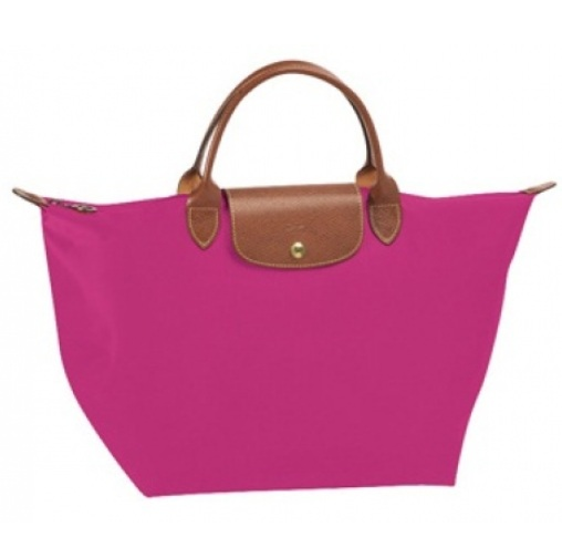 103d6a05d020 Longchamp Le Pliage in cyclamen- Photos not Mine Credit to Owner