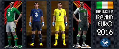 Republic of Ireland national football team kit EURO 2016
