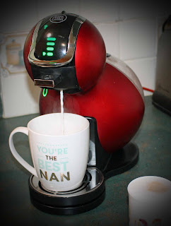 Mom's New Nescafe Coffee Machine - the Dolce Gusto