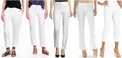 Old Navy Wide Leg Linen Pants $25 (reg $33) - use the daily online code to save more Old Navy Pixie Chinos $26 (reg $35) Liz Claiborne Audra Slim Leg Pants $28 (reg $48) Apt 9 Modern Fit Straight Leg Dress Pants $33 (reg $48) Style & Co Zip Pocket Pull On Capris $37 (reg $50)