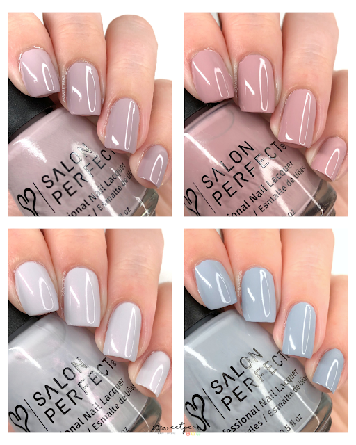 Salon Perfect Brunch Club Collection Swatches 25 Sweetpeas