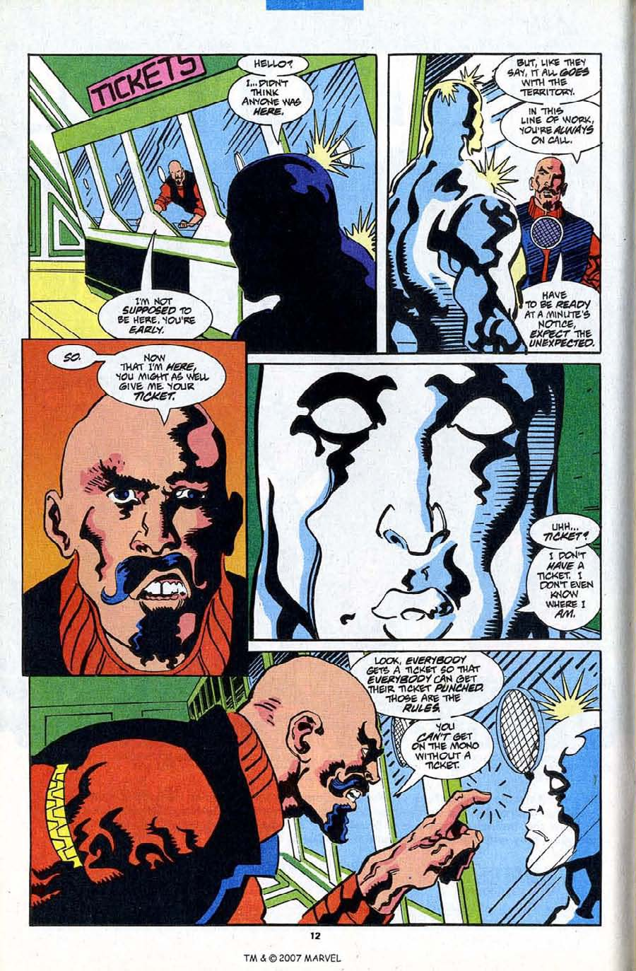 Read online Silver Surfer (1987) comic -  Issue #84 - 14