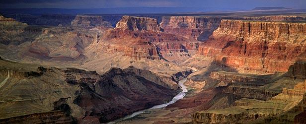 Una foto del Gran Cañón como ejemplo de cómo sería Ashum.