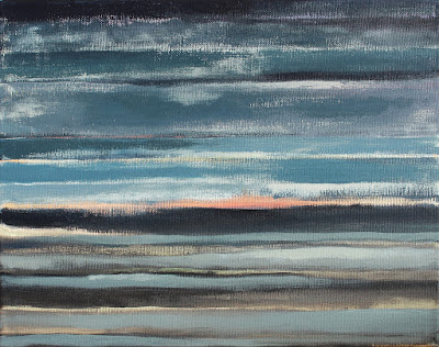 Acrylic painting by Lucinda Walker