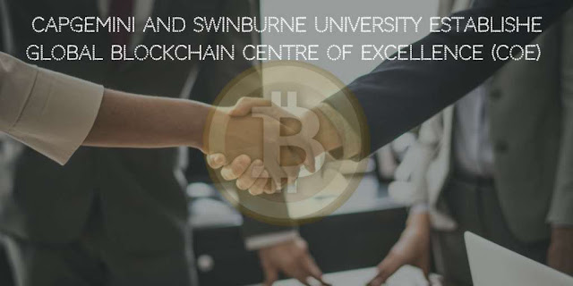 Capgemini and Swinburne University Establishe Global Blockchain Centre of Excellence (CoE)