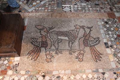 Mosaico de la iglesia  de Santa María y Donato. Isla de Burano