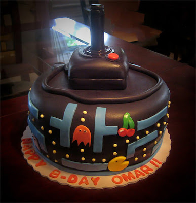Gâteau Pacman