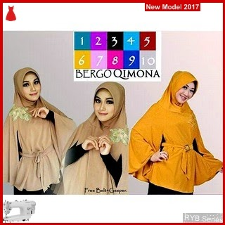 RYB049B Hijab Jilbab Cantik Bergo Murah Qimona BMG Online Shop