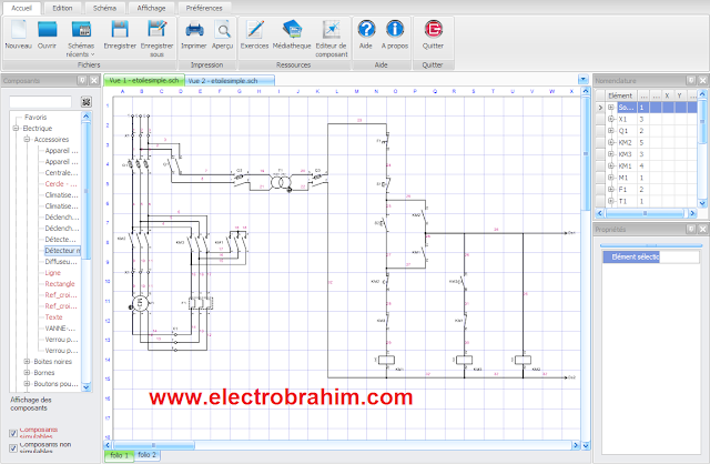 تحميل برنامج telecharger Schémaplic 6.0 لرسم الدوائر الكهربائية والبنوماتيكية