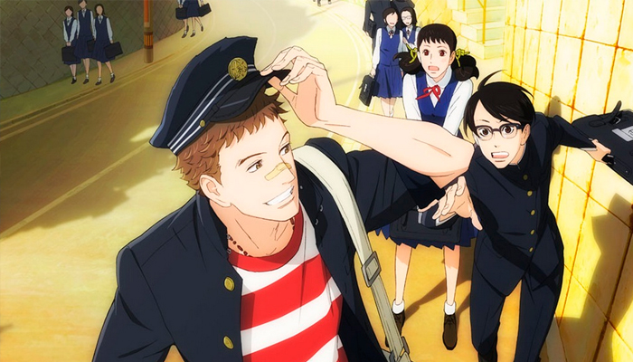Sakamichi no Apollon. Kids on the Slope