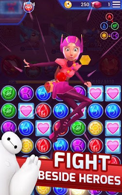 Big Hero bot fight mod apk latest version