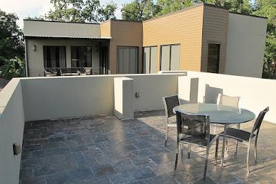 แบบบ้าน 2 ชั้น Modern Style ด้านบน