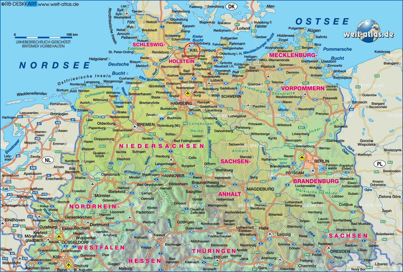 Small Space Decor Northern Germany Maps Pinterest