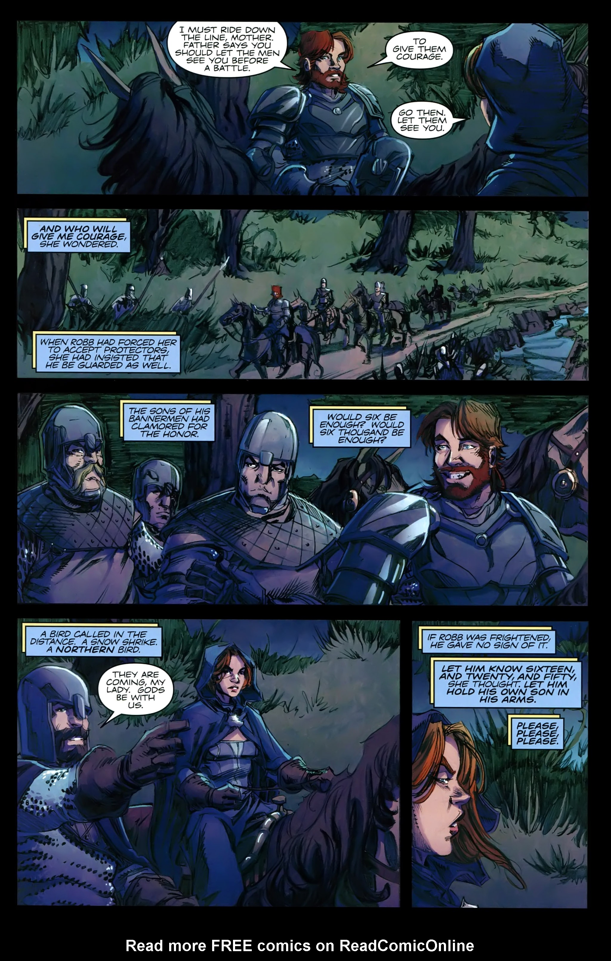 Read online A Game Of Thrones comic -  Issue #21 - 17
