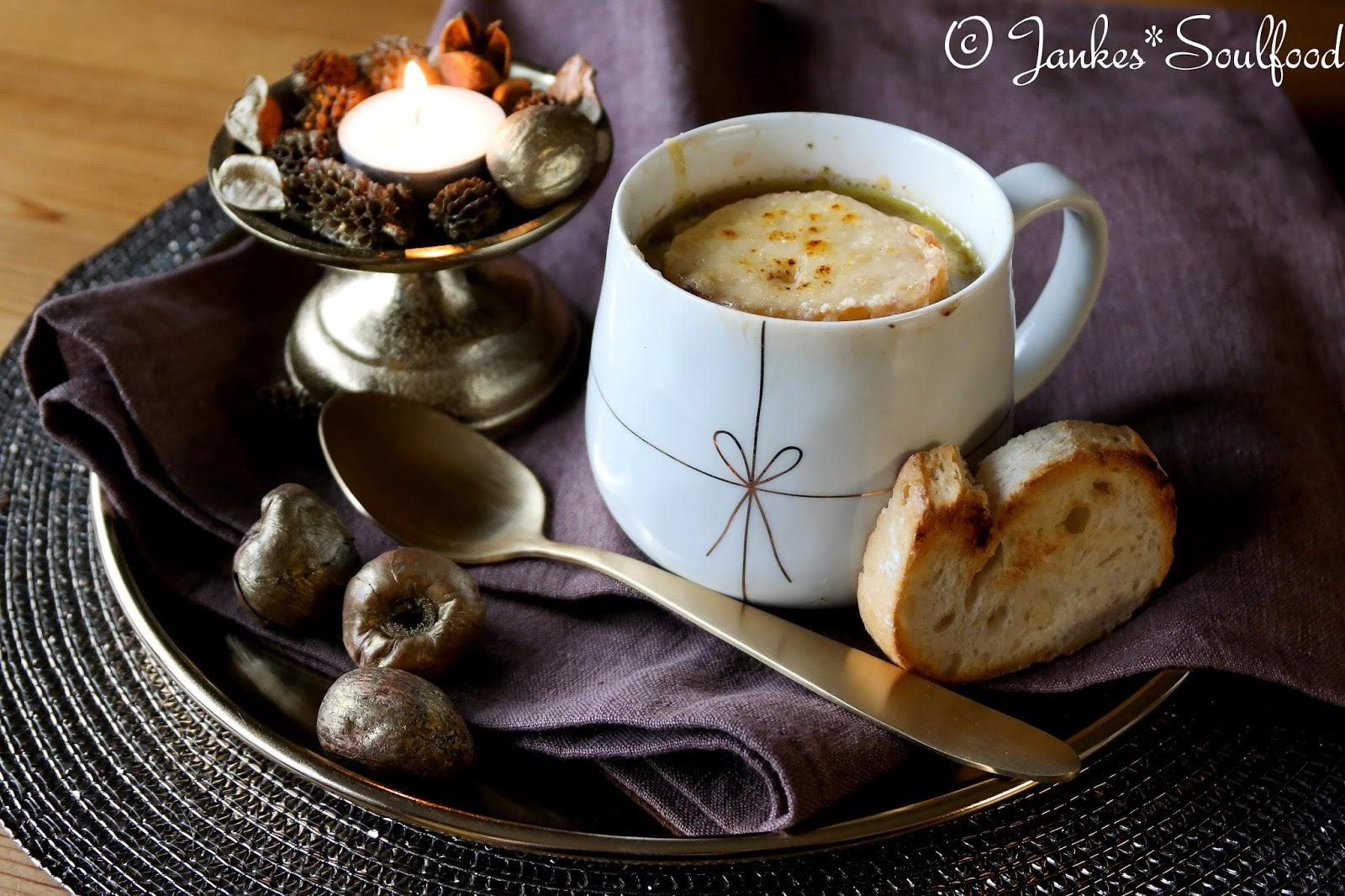 Soupe a l'oignon - Jankes Soulfood