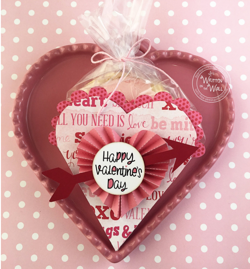 Valentine Heart Cookie/Treat Box