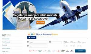 Reservasi Online di Website Wisesatravel