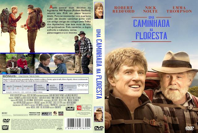 Capa DVD Uma Caminhada Na Floresta