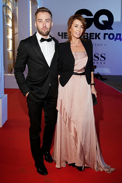 Dmitry Shepelyov and Zhanna Friske