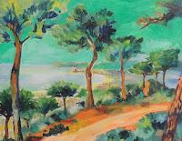 verano de arte pinturas paisajes