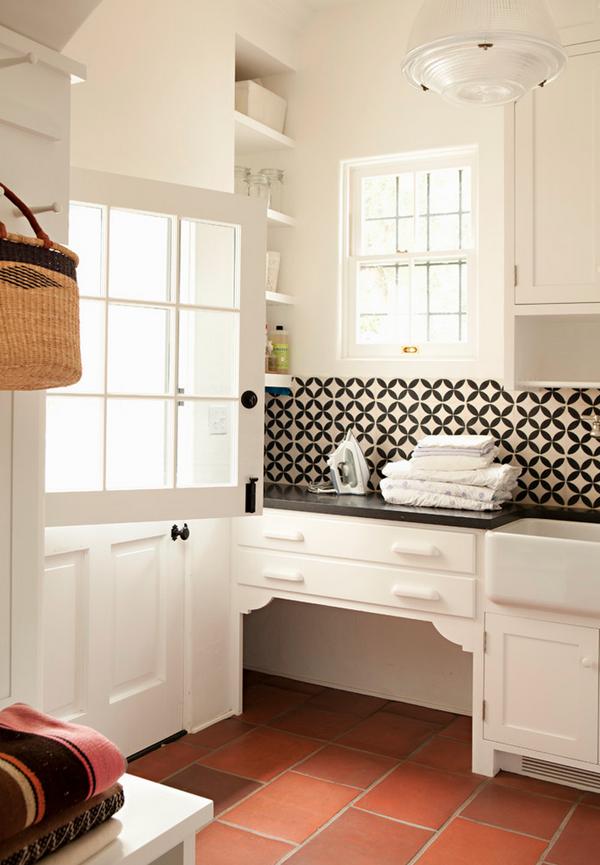 Housemaniaczka - blog o pięknych wnętrzach: Pralnia w domu ... on Pralnia W Domu Inspiracje  id=96982