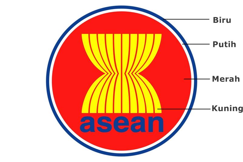 Arti Lambang Asean Perhimpunan Bangsa Bangsa Kawasan Asia Tenggara Negeri Pesona