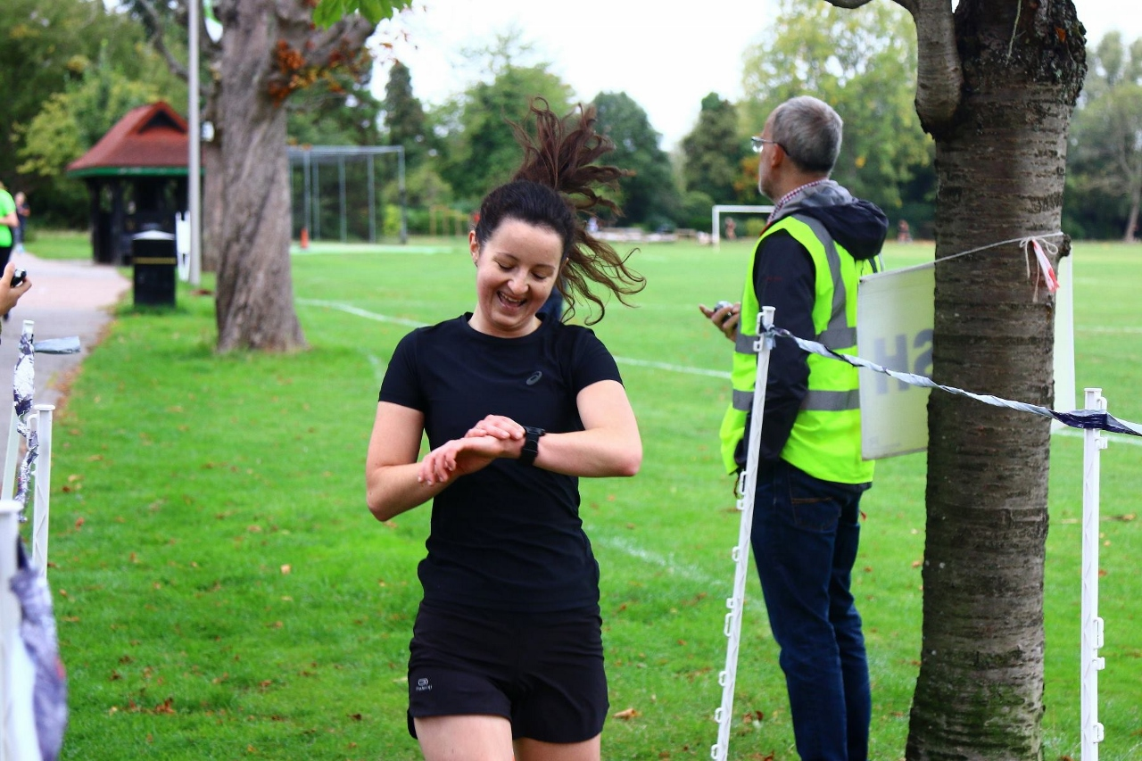 Finish funnel at parkrun