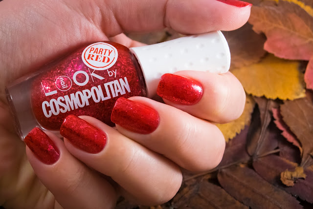 Naillook by Cosmopolitan 31446 Party Red