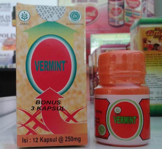 Obat Herbal Manjur (Vermint) Sakit Tipes Dan Demam Pada Anak Dan Dewasa