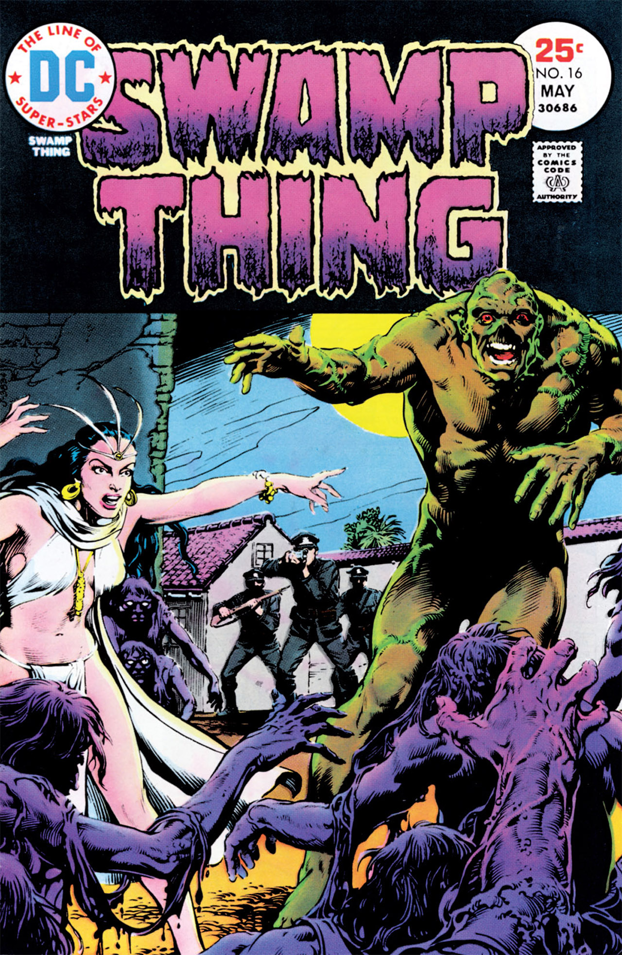 Swamp Thing (1972) Issue #16 #16 - English 1