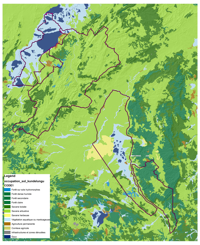 Carte De Lafrique Centrale Pdf.Robert Geobob Ford S Blog Landscape Ecology Of Dambos In