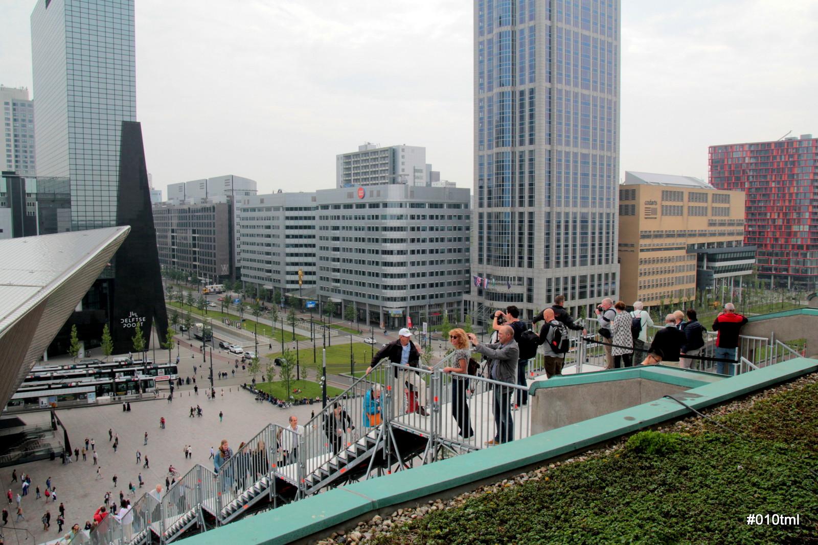 Rotterdam through my lens: rondje rotterdam vanaf het dak