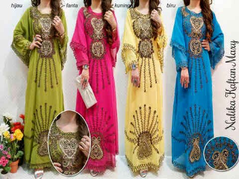 Material sifon cerruty ornament bordir cornelly + furing. Fit to XL