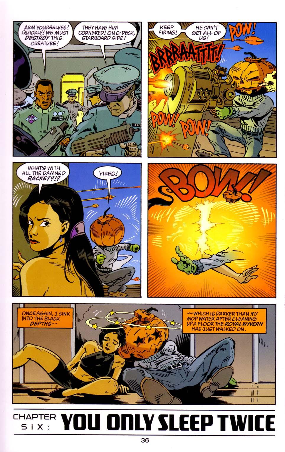 Read online Merv Pumpkinhead, Agent of D.R.E.A.M. comic -  Issue # Full - 37