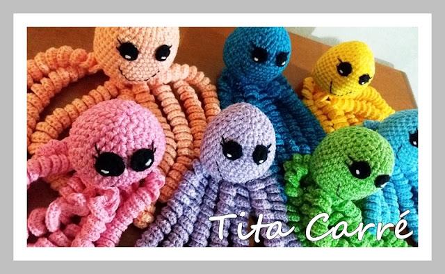 Os polvinhos para recém-nascidos da Tita Carré