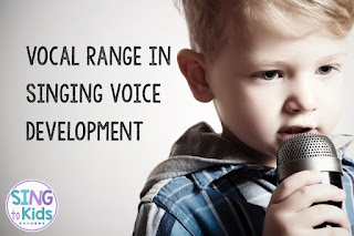 singing voice development, vocal range, initial singing voice range, elementary music, elementary singers, children's voices, children singers