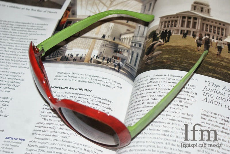 How to Jazz-Up your Old Summer Eye Glasses