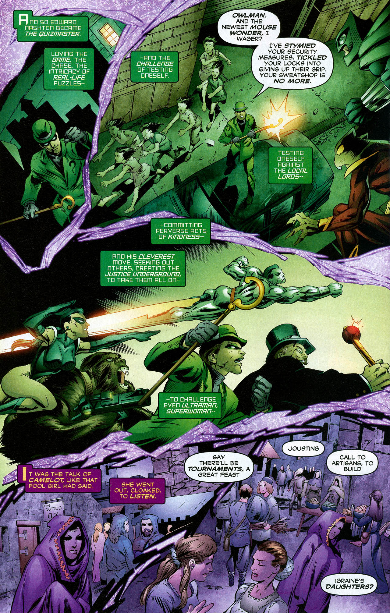 Read online Trinity (2008) comic -  Issue #21 - 8