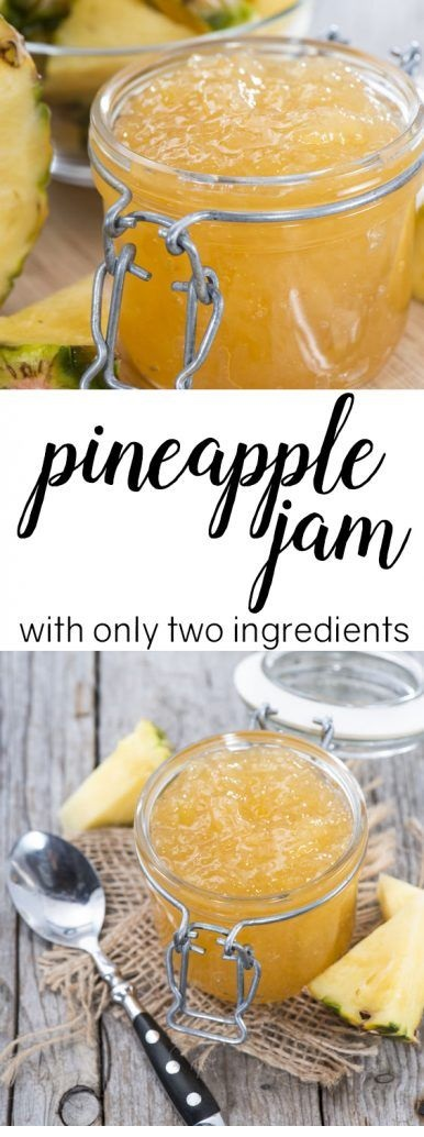 Make This Pineapple Jam With Only 2 Ingredients