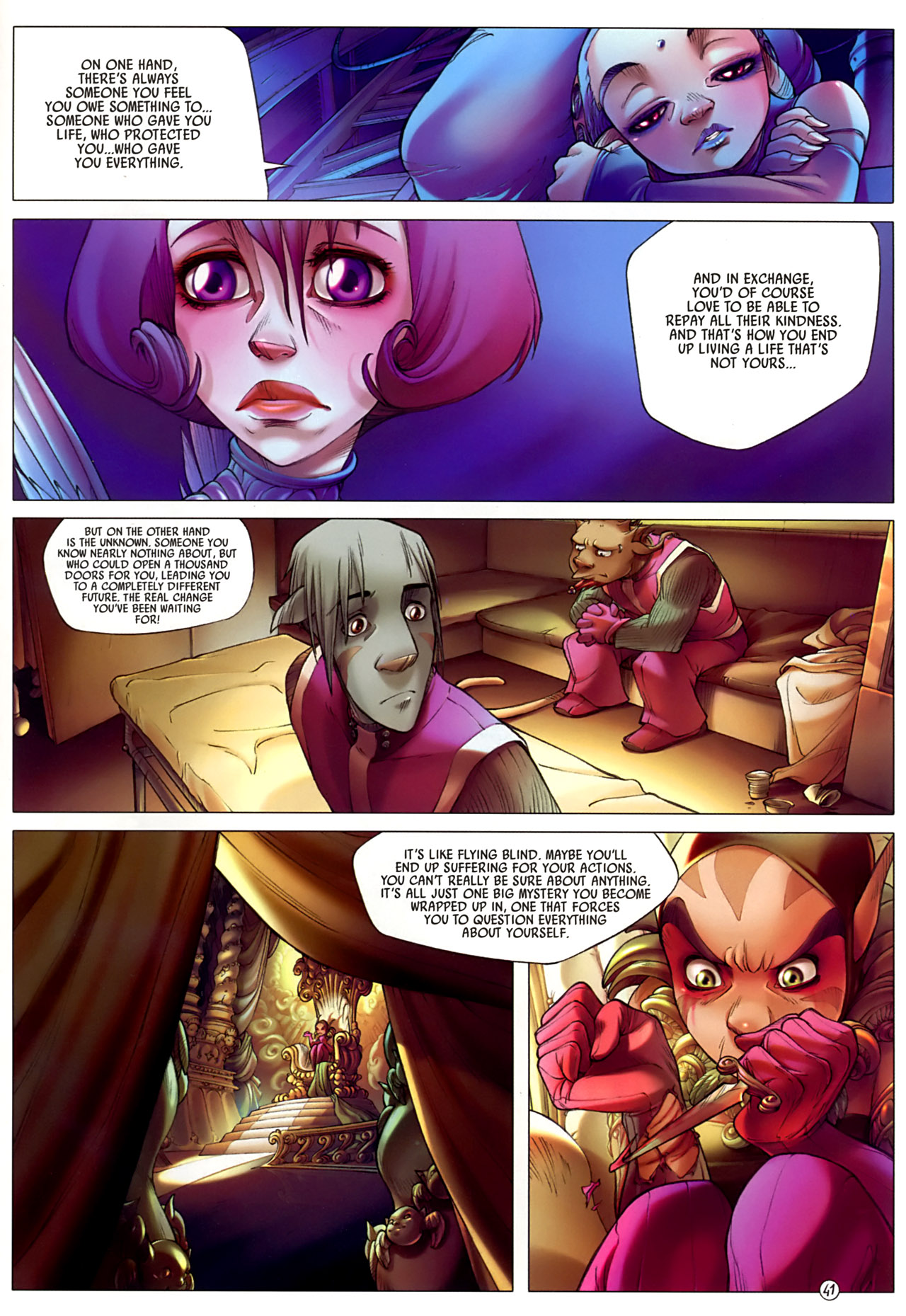 Read online Sky Doll comic -  Issue #3 - 45