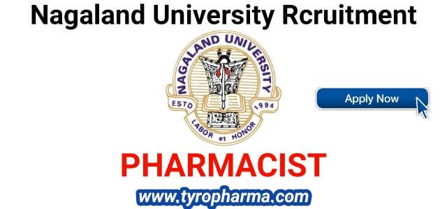 nagaland-university-recruitment-for-pharmacist