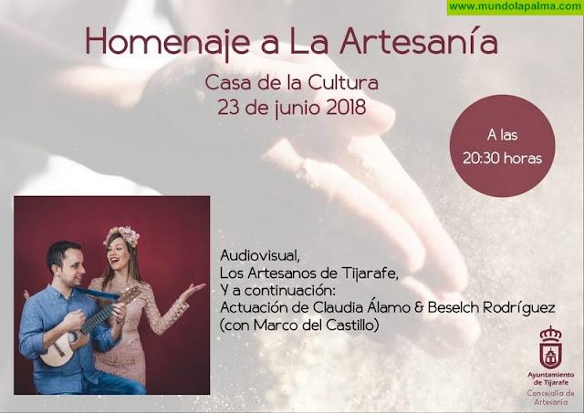Tijarafe rinde homenaje este sábado a la artesanía