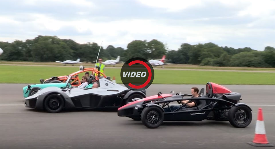 Bac Mono Caterham 620s Ariel Nomad And Atom Face Off