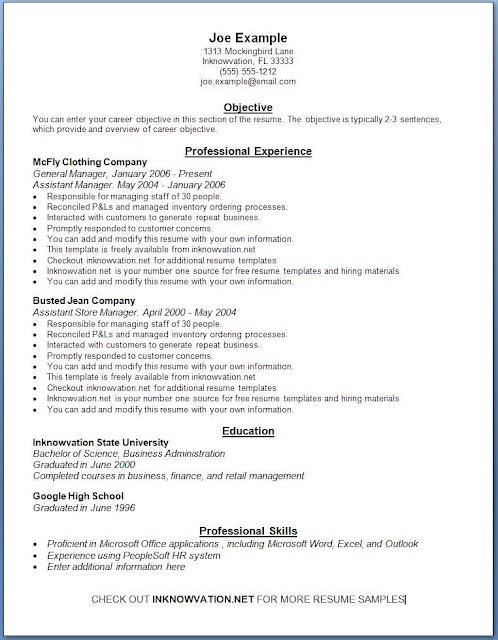 free resume samples online sample resumes best resume examples
