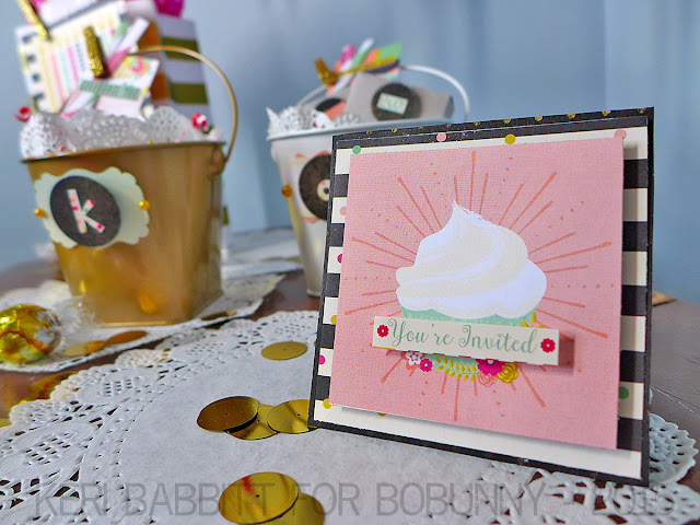 Birthday Brights Party by Keri Babbitt using BoBunny You're Invited Collection