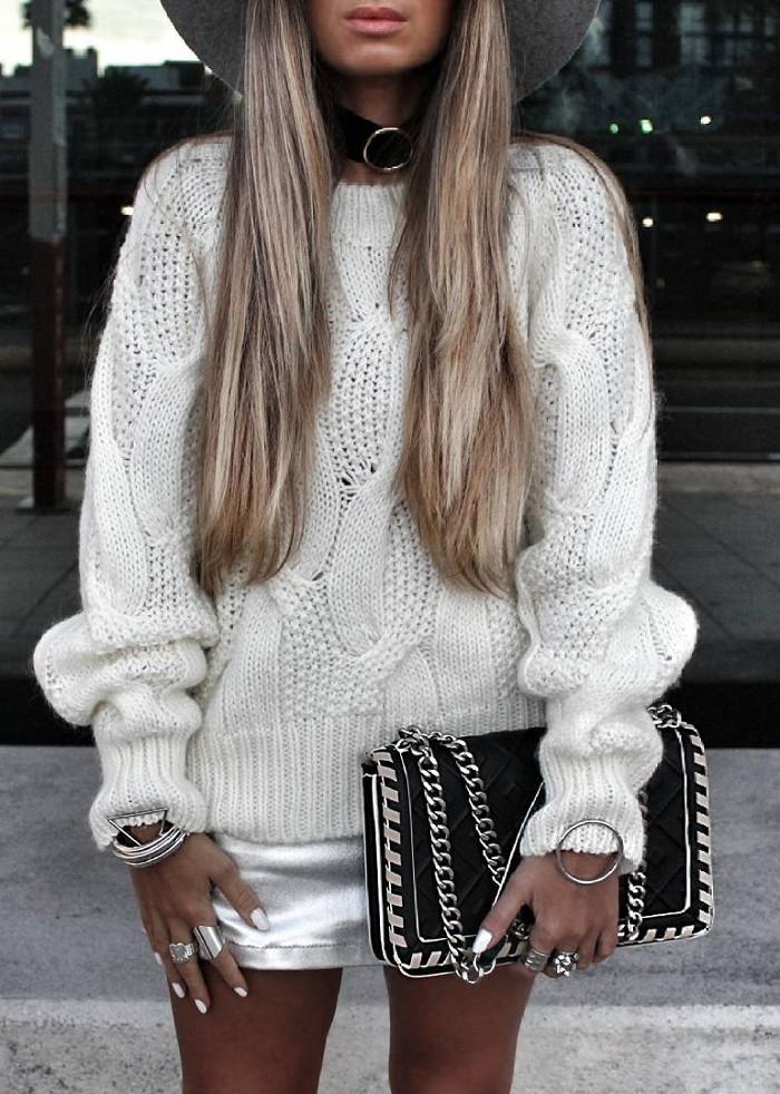 winter hippie style