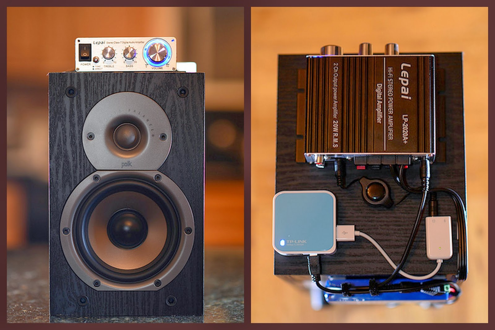 Qui's techNOLOGY Blog: DIY Portable AirPlay Speaker System